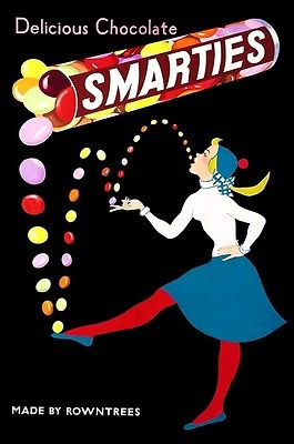1950's Smarties Artist Unknown