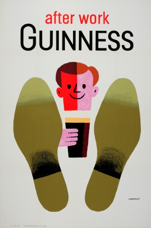 After Work Guiness, Tom Eckersley, Circo 1950