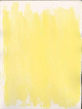 Yellow Background Texture Swatch #002